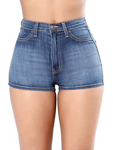 Irachel para Mujer Pantalones Cortos para De Alto Talle Mujer Ropa Festiva...