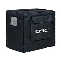 Soft, padded cover made with weather-resistant, heavy-duty Nylon/Cordura material Designed for KS112 Compact Powered Subwoofer Cover designed to be used with caster side down Country of origin is China