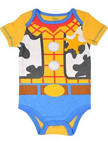 Disney Pixar Toy Story Baby Boy 5 Pack Bodysuit Buzz Lightyear Woody Rex Slinky Dog 12M Missouri