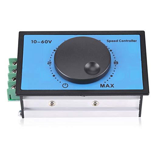 Controlador de velocidad del motor de CC, 20A 10-60V 12V 24V 36V 48V PWM Módulo de interruptor regulador del controlador de velocidad del motor de CC