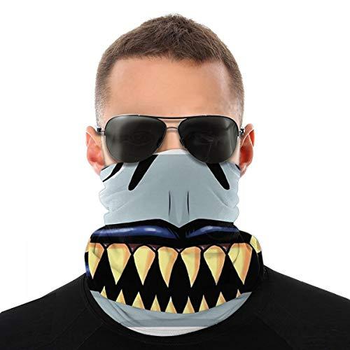 Wuyouhua Nasculi Mask Ryûk, Death Note Staubdichtes Winddichtes Gesicht Bandana Protection Variety Kopftuch Unisex