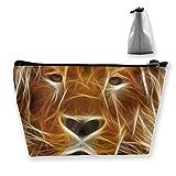 Organizzatore di casi cosmetici per treno portatile di programmi di modifica di immagini grafiche Lion