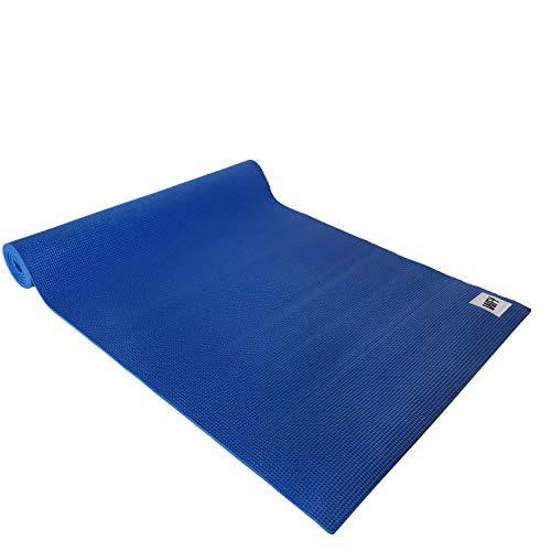 #DoYourYoga - Tappetino Yoga 'Annapurna Comfort' - imbottito e antiscivolo - tappetino fitness ideale per yoga, pilates, allenamento outdoor, palestra e casa - 183 x 61 x 0,5 cm - Blu