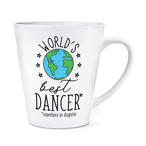 World's Mejor Bailarina 12oz Latte Taza