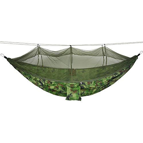 GW Hamac Ultra-léger de Voyage Camping, 200 kg Capacité de Charge,(260 x 140 cm) Respirante, Nylon à Parachute à séchage Rapide,O