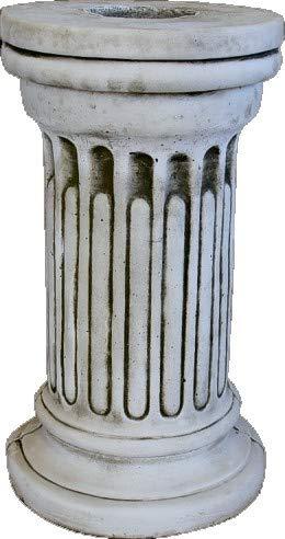 DEGARDEN Pedestal Columna de hormigón-Piedra para jardín o Exterior 28X51cm.