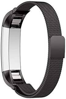For Fitbit Alta HR and Alta Bands,Milanese Stainless Steel Replacement Accessories Metal Band for Fitbit Alta HR and Alta,...