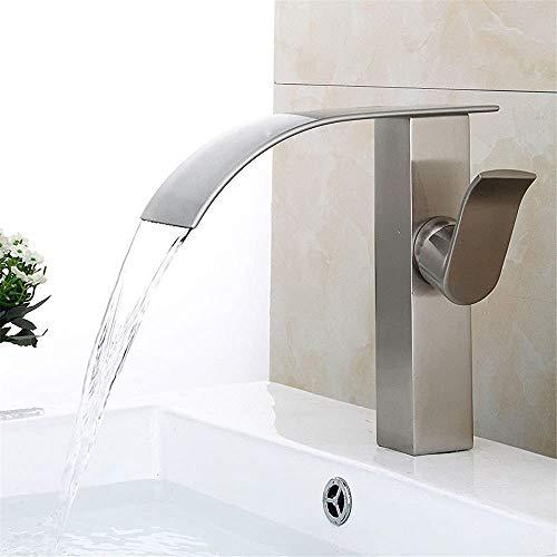 Waschbecken Wasserhahn Küchenarmatur Bad Eitelkeitwanne untere Becken zeichnen heißes und kaltes Wasser mischte Wasserfall Wasserhahn,Copper