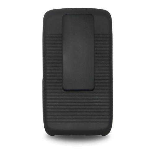 Shellster beschermhoes en holster voor BlackBerry Torch 9850/9860, zwart