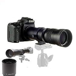 JINTU 420-1600mm f/8.3 HD-Tele Zoom Teleobjektiv für Nikon Digitale SLR Kameras D5600 D5500 D5200 D5300 D5100 D3400 D3300 D3200 D3100 D7200 D7500 D7100 D7000 D750 D600 D90 D800 D810 D5 D4S DF