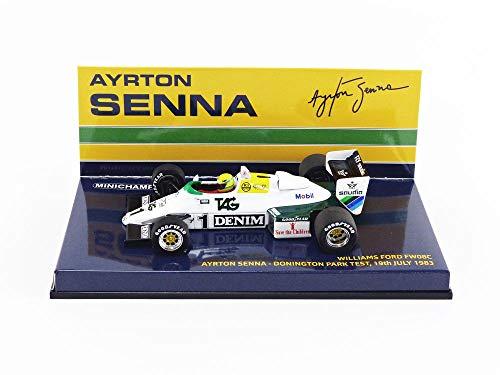 Minichamps 540834301' 1983 Williams FW 08C Ford-Ayrton Senna Model Toy, 1:43 Scale