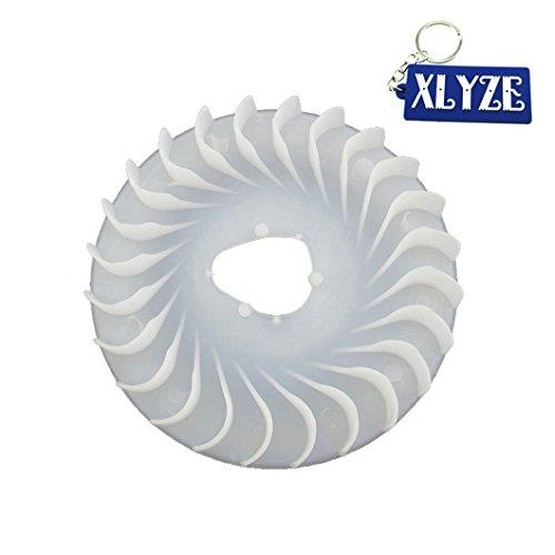 xlyze Ventilateur de moteur pour moteur de moteur honda gX160 5.5HP GX200 6.5HP