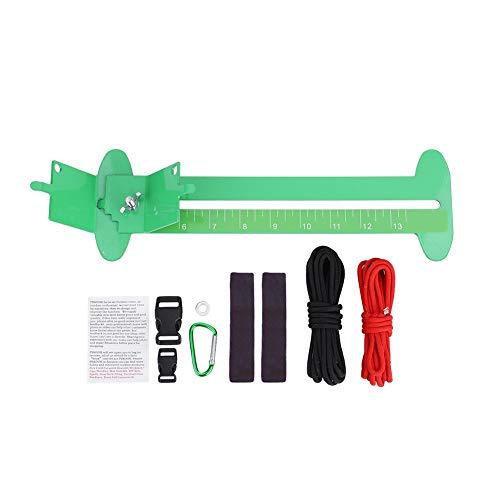 Nancunhuo Paracord Armband Maken Kit-Paracord Armband DIY Metalen Weven Tool Verstelbare Lengte Vlechten Kits Accessoire