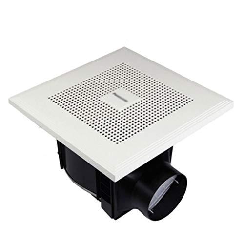 JJZXT Exhaust Fan for Wall Window Bathroom ABS Ventilation Fan Kitchen Ceiling Extractor Vent Fan Toilets Duct Blower