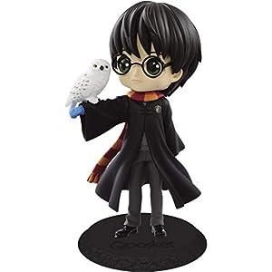 Figura de Colección de Harry Potter QPOSKET II Chaqueta Negra Versión A 14cm Banpresto Búho Hedwig Warner Bros 7