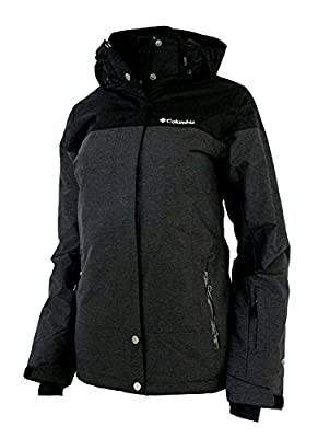 Columbia Womens Snowshoe Mauntain Insulated Jacket Black/Shark (LARGE)