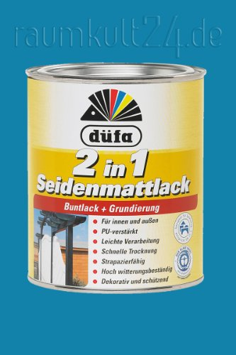 düfa 2in1 Seidenmattlack (Friesenblau, 375 ml)