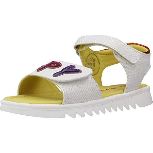 Agatha Ruiz De La Prada Smiles Sandalen/Sandaletten Madchen Weiss - 32 - Sandalen/Sandaletten Shoes