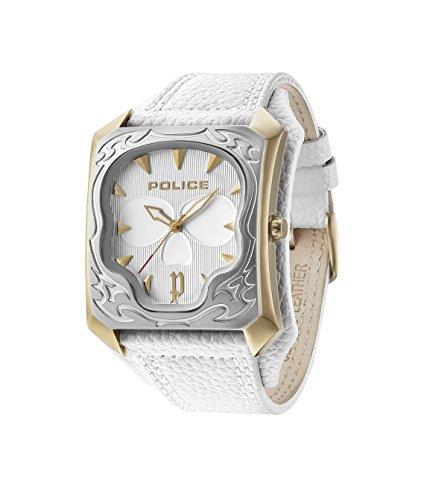 Police 14252JSGS/01 - Reloj, de Color Blanco