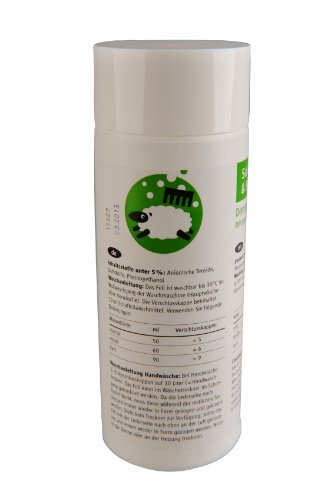 Kaiser Naturfelle 98010 Waschmittel mit Lanolin, 200 ml