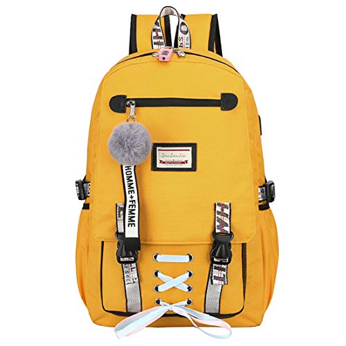 mochilas vans amarilla pastel