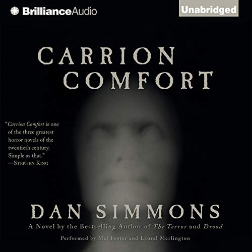 Carrion Comfort audiobook cover art