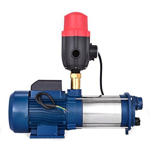 Bisujerro 2200W Bomba Centrífuga 160L/min Bomba de Agua El�