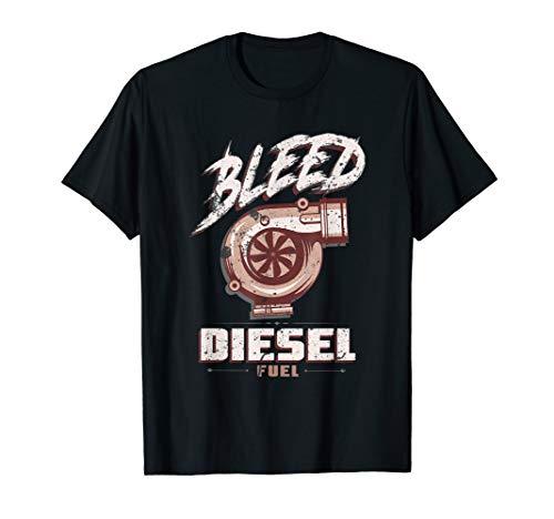 Beschnitt Diesel Fuel T-Shirt DIESEL POWER Rolle Kohle