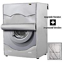 Mr.You Funda Lavadora Carga Frontal,Cubierta Lavadora reciclable para lavadoras de Carga Frontal Impermeable (Profundidad de 55~64cm, 5 Años de Vida de Servicio)