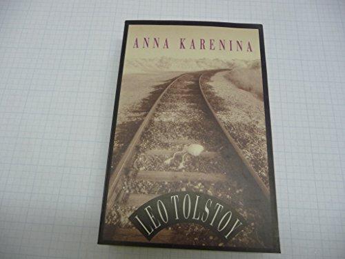 Anna Karenina 030729157X Book Cover