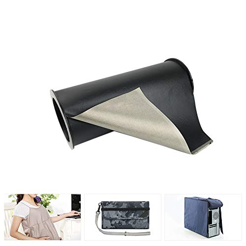 Anti Radiatie Afscherming Stof 1,1 m Breedte EMF RF RFID Blokkeren Geleidende Zachte Aarding DIY Materiaal voor Speciale Uniformen, Bagage, Tenten, Gordijn 1m