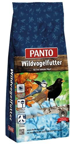 Panto Wildvogelfutter, Vier-Jahreszeitenfutter 25 kg, 1er Pack (1 x 25 kg)