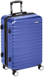 AmazonBasics Premium Hardside Spinner Luggage with Built-In TSA Lock - 30-Inch, Blue