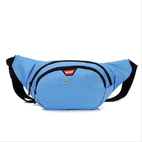 Fhdc heuptassen canvas-sporttassen multifunctionele tassen voor dames met getijdenmode uitgerust