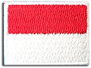 インドネシア 国旗 ・ ミニ / アイロン ワッペン