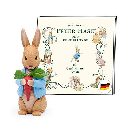 tonies Hörfigur für Toniebox, Peter Hase und Seine Freunde – EIN Geschichten-Schatz, Hörspiel für Kinder...