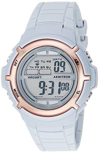 Armitron Sport Women's Digital Quartz Watch with Resin Strap 45/7045PBL