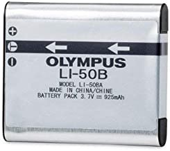 Olympus LI-50B LI50B Battery for VR-340 1010 1020 1030SW Tough 6000 6020 8000 8010 MJU 1010 1020 TG 610 620 630 810 XZ-1 XZ-10