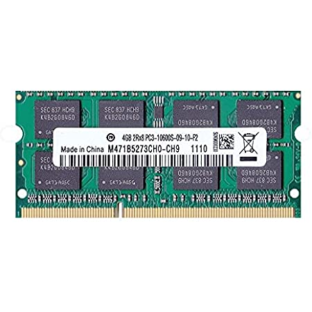 PC3-10600(DDR3-1333) SO-DIMM 4GB 1.5V 204pin メモリンゴブランドノートPC用メモリ mac対応