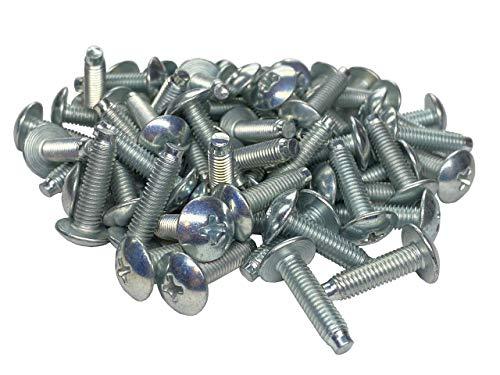 RackGold 10-32 Zinc Rack Screws 50 Pack - USA Made
