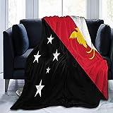485 Flagge Von Papua-Neuguinea Mikrofaser Selbstkühlende Decke Kuschelige Wohndecken Atmungsaktiv Couchdecke Hautfre&lich Reisedecke Dekorativ Microfaser Fleece-Decke M