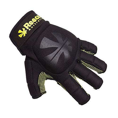 Reece Control Protection veldhandschoen hockey zwart-geel