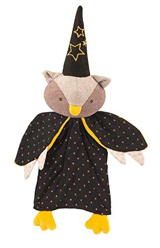 Marionnette hibou Le magicien Il était une fois