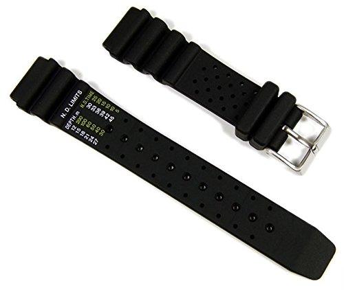 Citizen Marken Ersatzband Uhrenarmband Kautschuk für Promaster Diver 20mm AJ9230-08EE NY0040-09EE