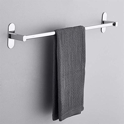 Handdoekenrek voor wandmontage - RVS Ponsvrije muurbeugel met een paal 40 cm 15.75