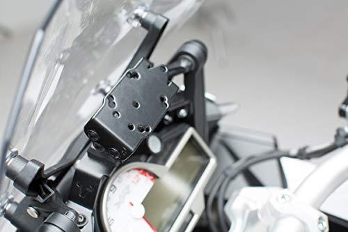 SW-Motech GPS.07.592.10000/B Support pour Navi Amovible dans Le Cockpit pour BMW S 1000 XR 2015 Noir