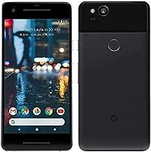 Google Pixel 2 128GB Unlocked GSM 4G LTE Octa-Core Phone with 12.2MP Camera - Just Black (Renewed)