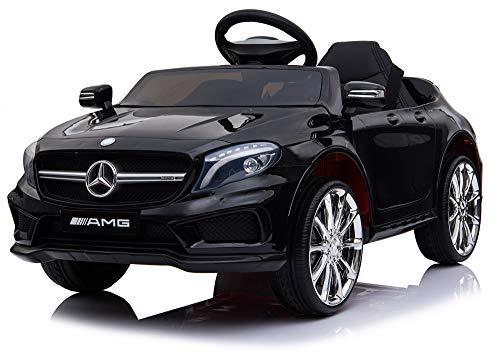 giordano shop Macchina Elettrica per Bambini 6V Mercedes AMG GLA 45 Nera