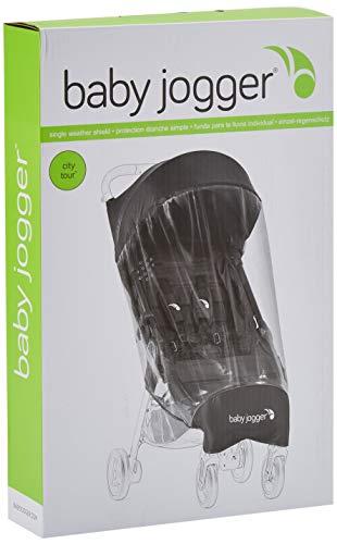 Baby Jogger 1982713 City Tour Wetterschutz für Kinderwagen, transparent