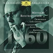 Schumann: Cello Concerto / Tchaikovsky: Rococo Variations / Rachmaninov: Cello Sonata